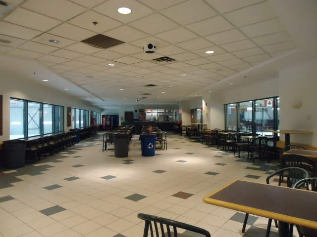 table chairs viewing room over two arena's (one you stand around, the other has 1600 seats fort erie ontario canada)