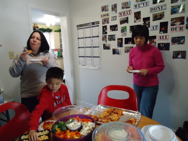 tina john Li community house christmas party 23 dec 2013 linda randall