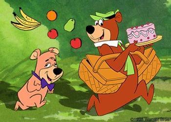 YOGI---BOOBOO animation cartoon comedy jokes impressions vocals jeff tenbrinke linda randall wheres my picnic basket the idea girl says youtube