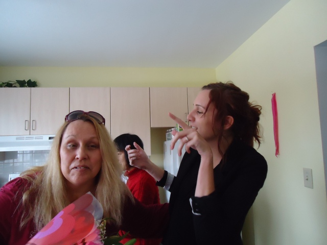 barb becky li sharing flowers valentines day sing along linda randall