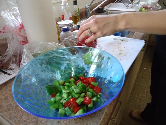 vegetable quinoa salad cuttings community house 3 feb 2014 linda randall