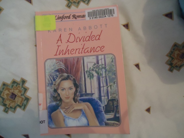 A Divided Inheritance Author Karen Abbott - the idea girl says author linda randall