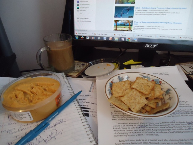 blogging food malaysian airline MH370 Psychic investigation crackes red pepper hummus linda randall coffee