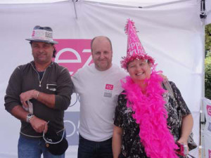 #PD14 #promoday2014 harry-and-linda-randall-the-idea-girl-with-mark-munroe-from-ez-rock-105-7-niagara-wine-festival-2011-photo