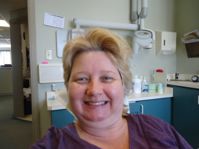 linda randall teeth cleaning dental appointment 26 feb 2014