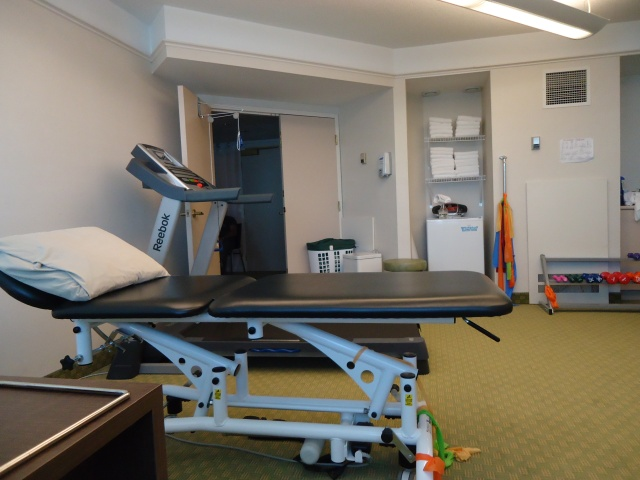 physio exercise room linda randall neck and back pain management 28 feb 2014