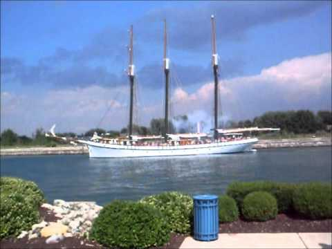 sandy beach tall ship tours welland canal days port colborne linda randall igc entertainment canada - idea girl canada