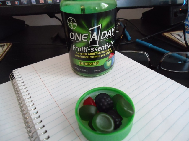 Starting One a Day Adult gummies Vitamins 23 feb 2014 high energy linda randall harold chisholm yummy!
