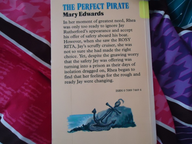 The Perfect Pirate book cover Mary Edwards - linda randall wordpress