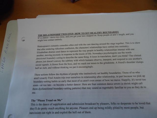 the relationship two-step how to set health boundaries seminar deb community house 27 feb 2014 linda randall