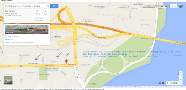 Tim Hortons - 141 Garrison Rd Fort Erie Peace Bridge Buffalo NY USA 905 871 1743 Google Maps linda randall idea girl canada