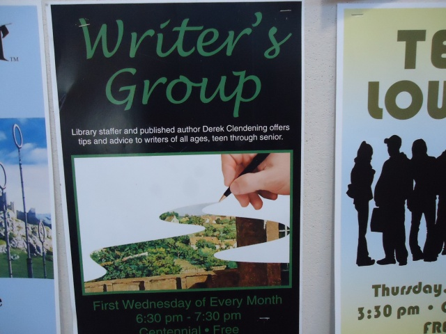 writers group derek clendening tips advice all ages teen through senior first wed every month 630 - 730 pm centennial fort erie library gilmore rd, central ave linda randall idea girl canada