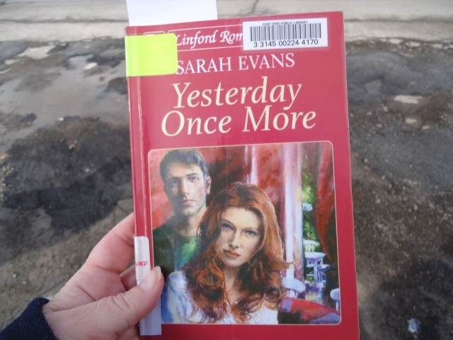 Yesterday Once More author sarah evans  - book review linda randall