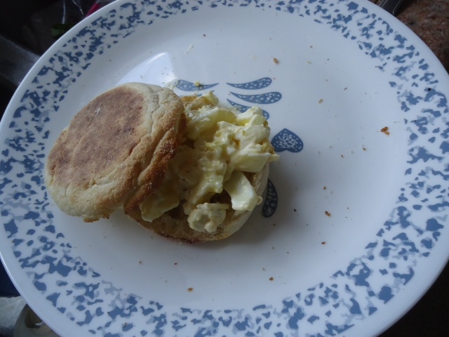 english muffin egg salad for linda randall idea girl canada at community house thanks deb!