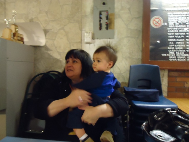 linda with baby quintin (1 yr old) 5 apr 2014 linda randall