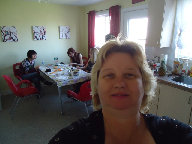 linda randall with li becky easter party community house 17 apr 2014