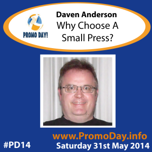 #PD14 presenter banner Daven Anderson promo day sat 31 may 2014 - the idea girl says