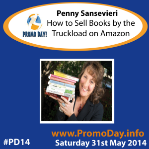 PD14 presenter banner Penny Sansevieri How to Sell Books by the Truckload on Amazon