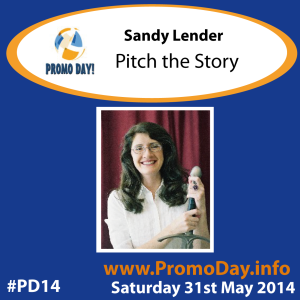 PD14 presenter banner Sandy Lender- Pitch the Story