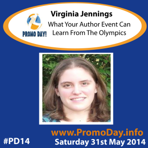 PD14 presenter banner virginia jennings What Your Author Event Can Learn from the Olympics