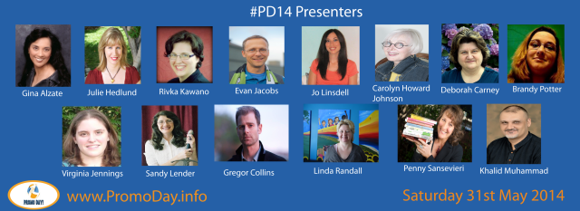 #PD14 #promodayevent 31 May 2014 presenters