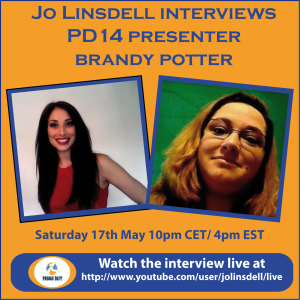 pd14-promodayevent-presenter-pre-event-interviews-brandy-potter-with-jo-linsdell-the-idea-girl-says