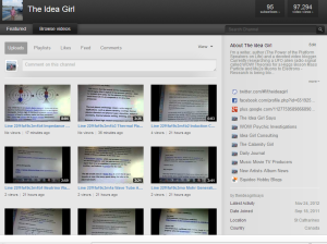 the-idea-girl-says-youtube-channel-97-294-views-24-nov-2012-linda-randall-video-blogging-alien-ufo-radio-signal-wow