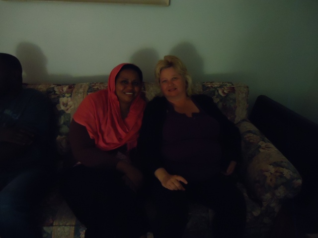linda randall with new sudanese friend 5 jun 2014