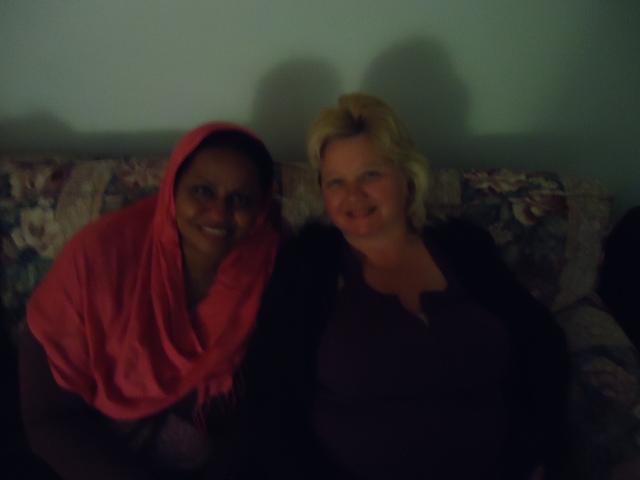 new muslim sudanese friend with linda randall 5 jun 2014