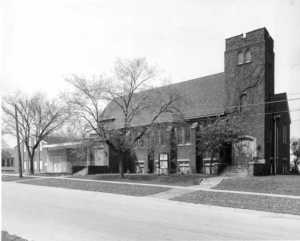 St. Andrew's - Knox Presbyterian Church, corner of Central & Highland Ave., Fort Erie Ontario Canada - idea girl canada - Francis J Petrie Collection
