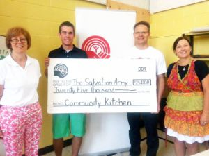 FEFSN The United Way of Niagara Falls Greater Fort Erie 25,000 update Teaching Community Kitchen FE Salvation Army Gilmore Rd - Idea Girl Canada