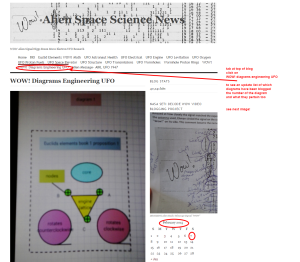 WOW  Diagrams Engineering UFO   Alien Space Science News wordpress tab to find diagram index and dates blogged linda randall SETI