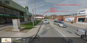 grimsby-benevolent-fund-google-maps-canada-trust-td-bank-elm-st-main-st-qew-niagara-used-clothing-furniture-toys-thrift-store-map