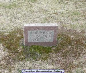 john wilson chisholm 1894 - 1944
