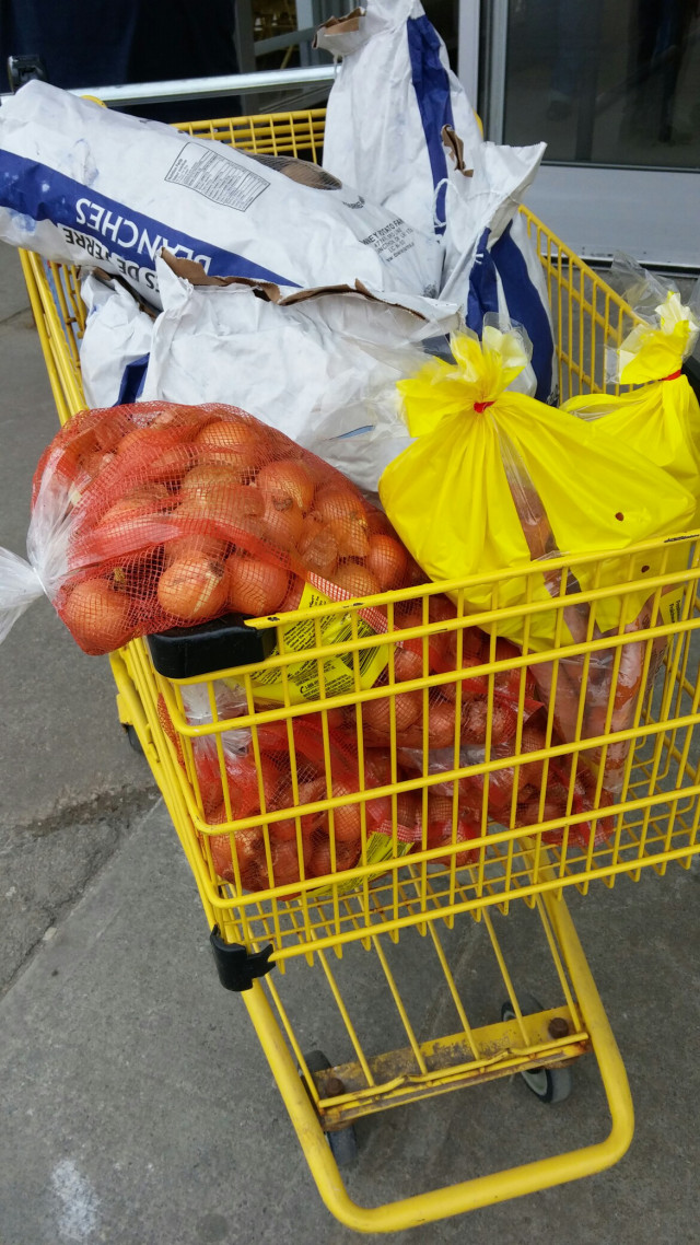 lindas cupboard potatoes carrots onions shopping card no frills